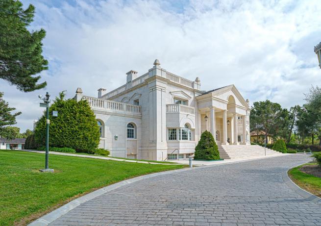 15- Exterior House La Moraleja