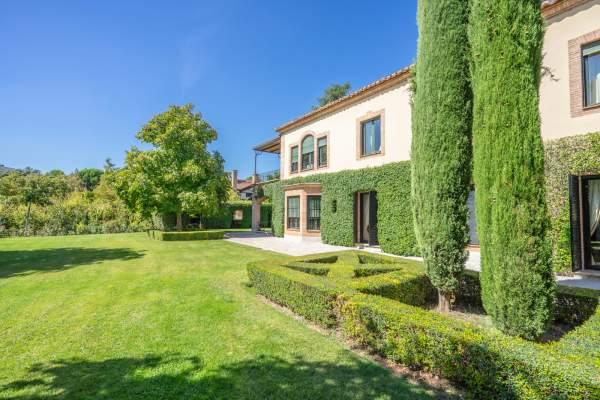 Jardín-36 Maison La Moraleja