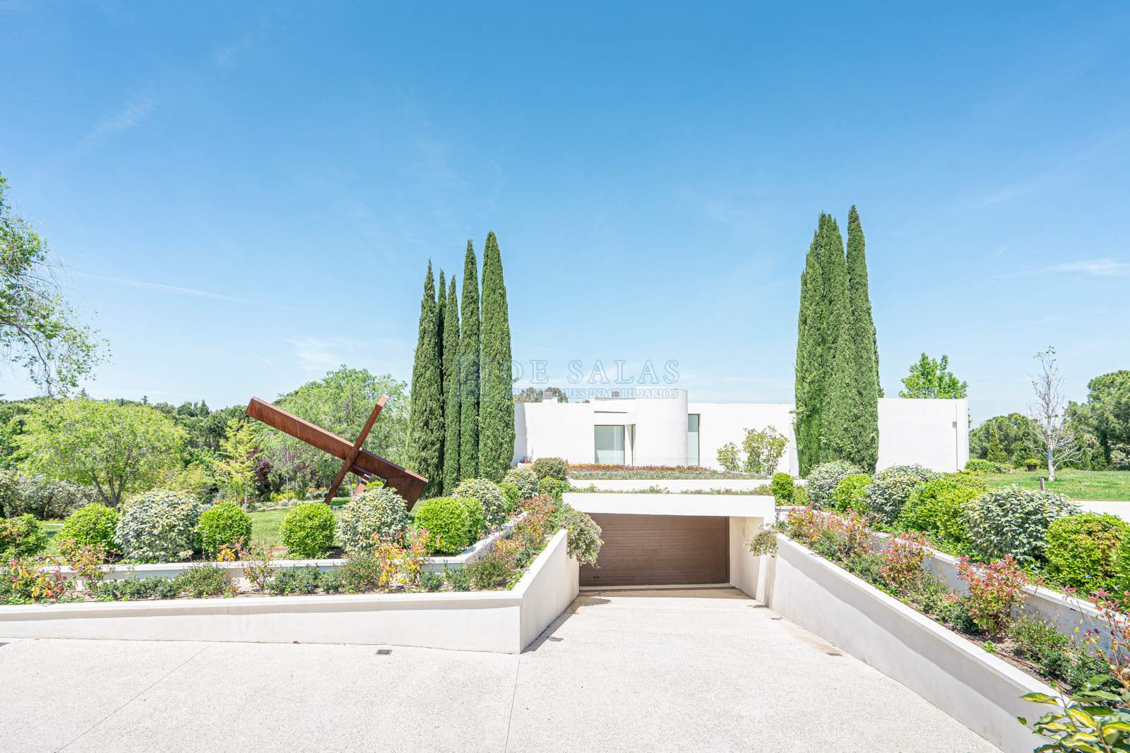 Fachada-0057 House La Moraleja