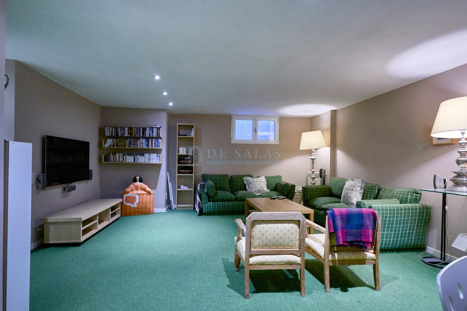 Sala de estar-0030 Chalet El Encinar de los Reyes
