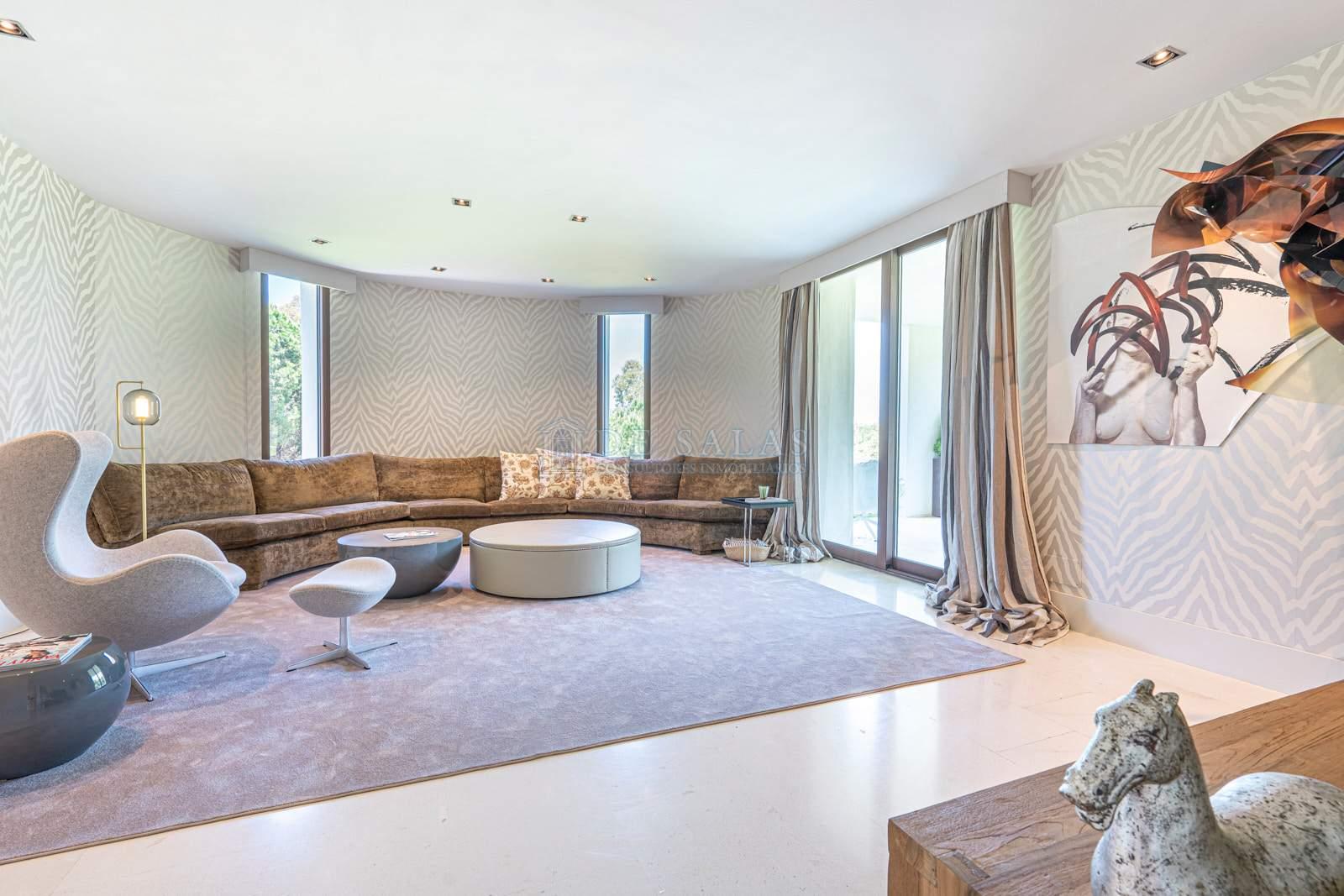 Sala de estar-0019 House La Moraleja