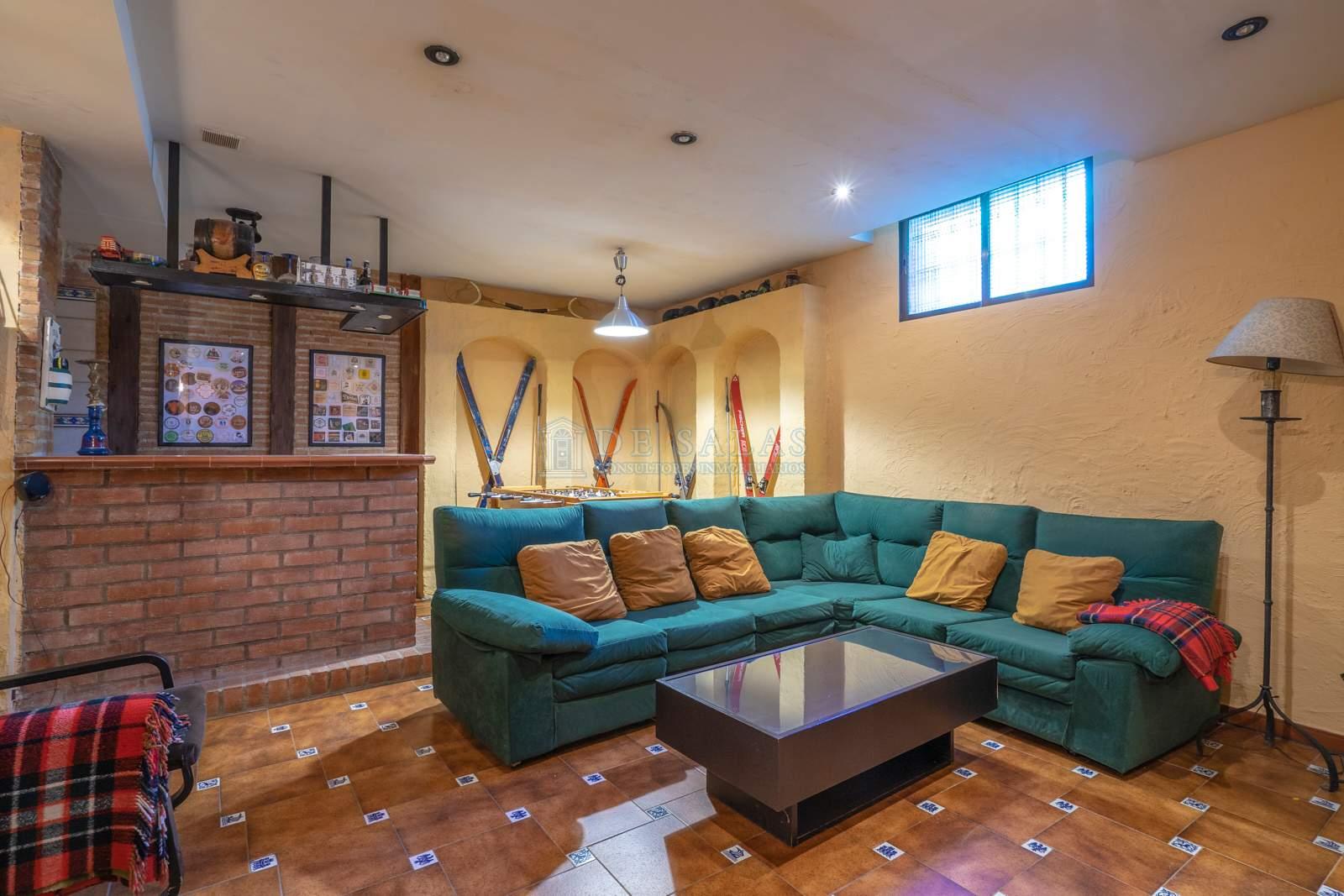 Sala de estar-49 Chalet La Moraleja