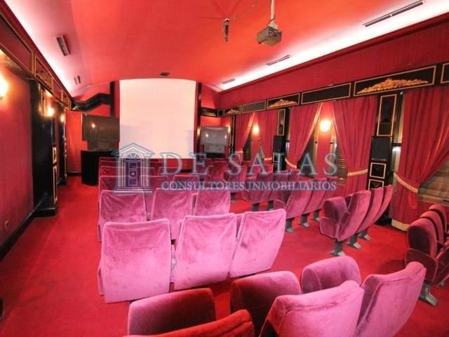 1116 - Sala de cine Chalet La Moraleja