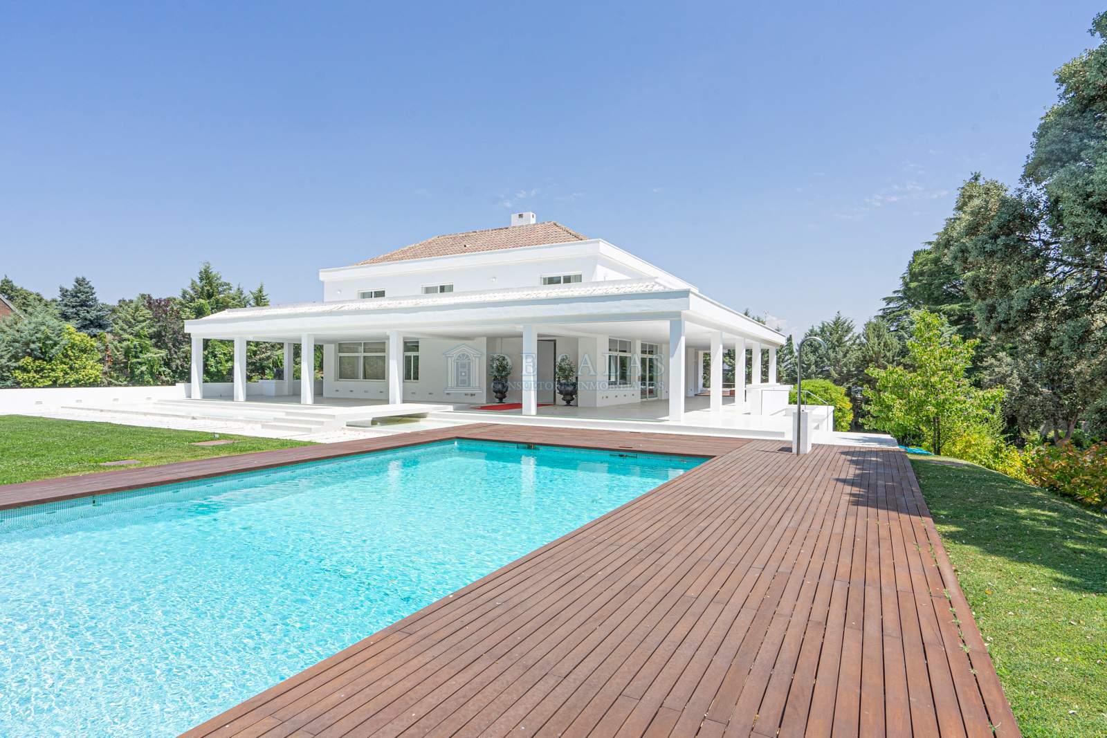 Piscina-0045 House La Moraleja