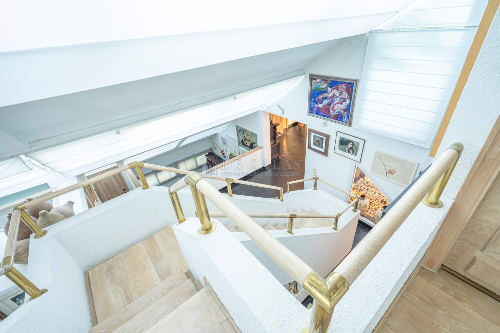 Escalera-39 House La Moraleja