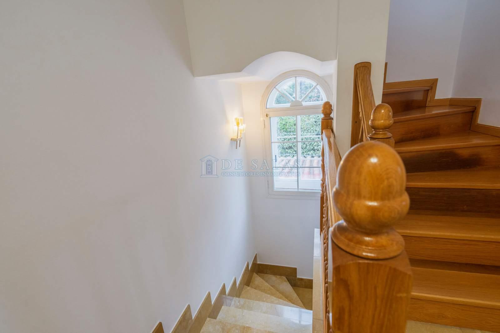 Escalera-32 House El Encinar de los Reyes