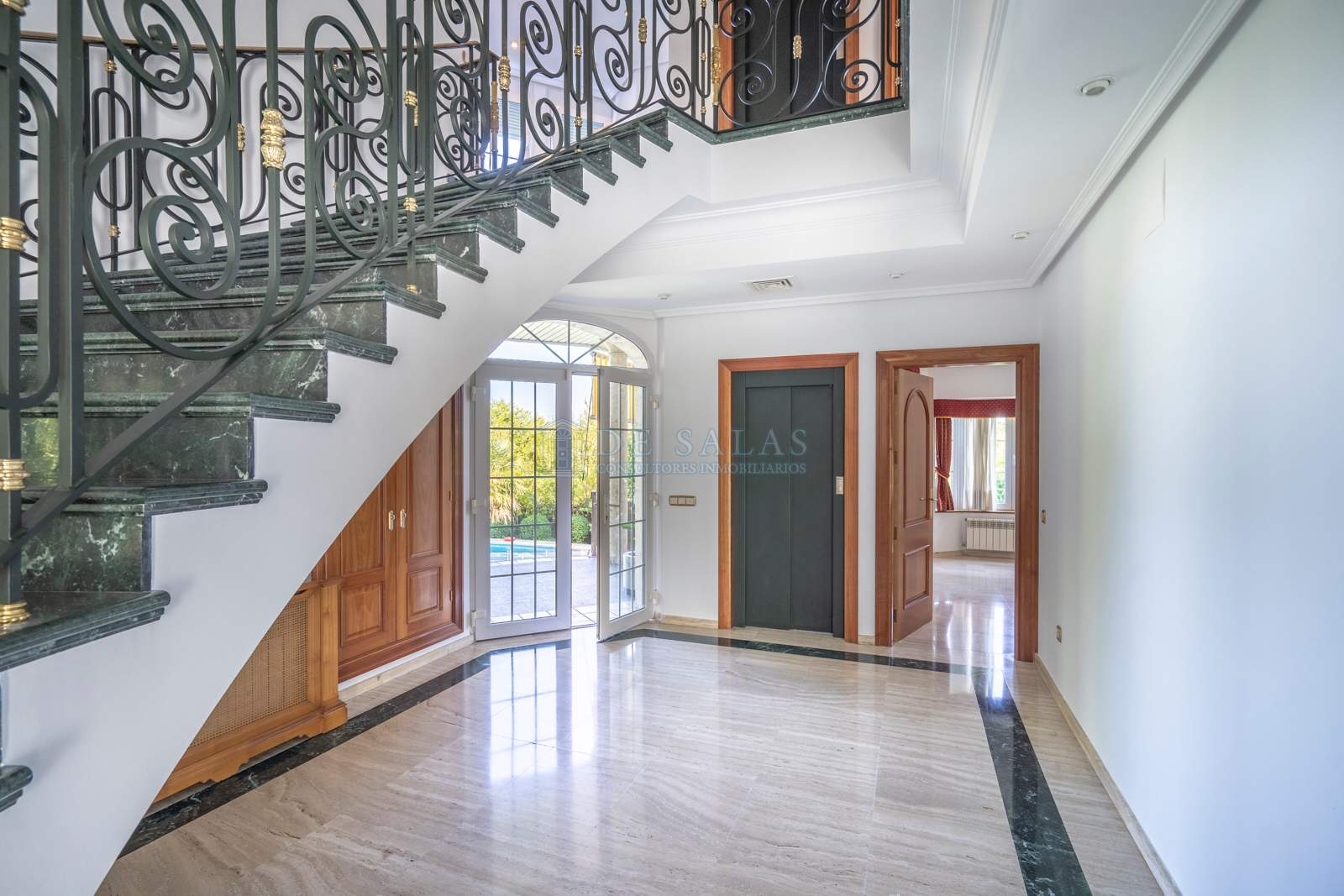 Escalera-06 Maison La Moraleja