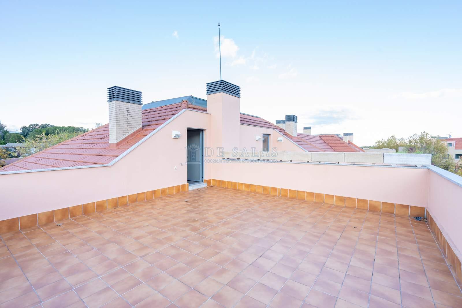 Terraza-10 Flat El Encinar de los Reyes