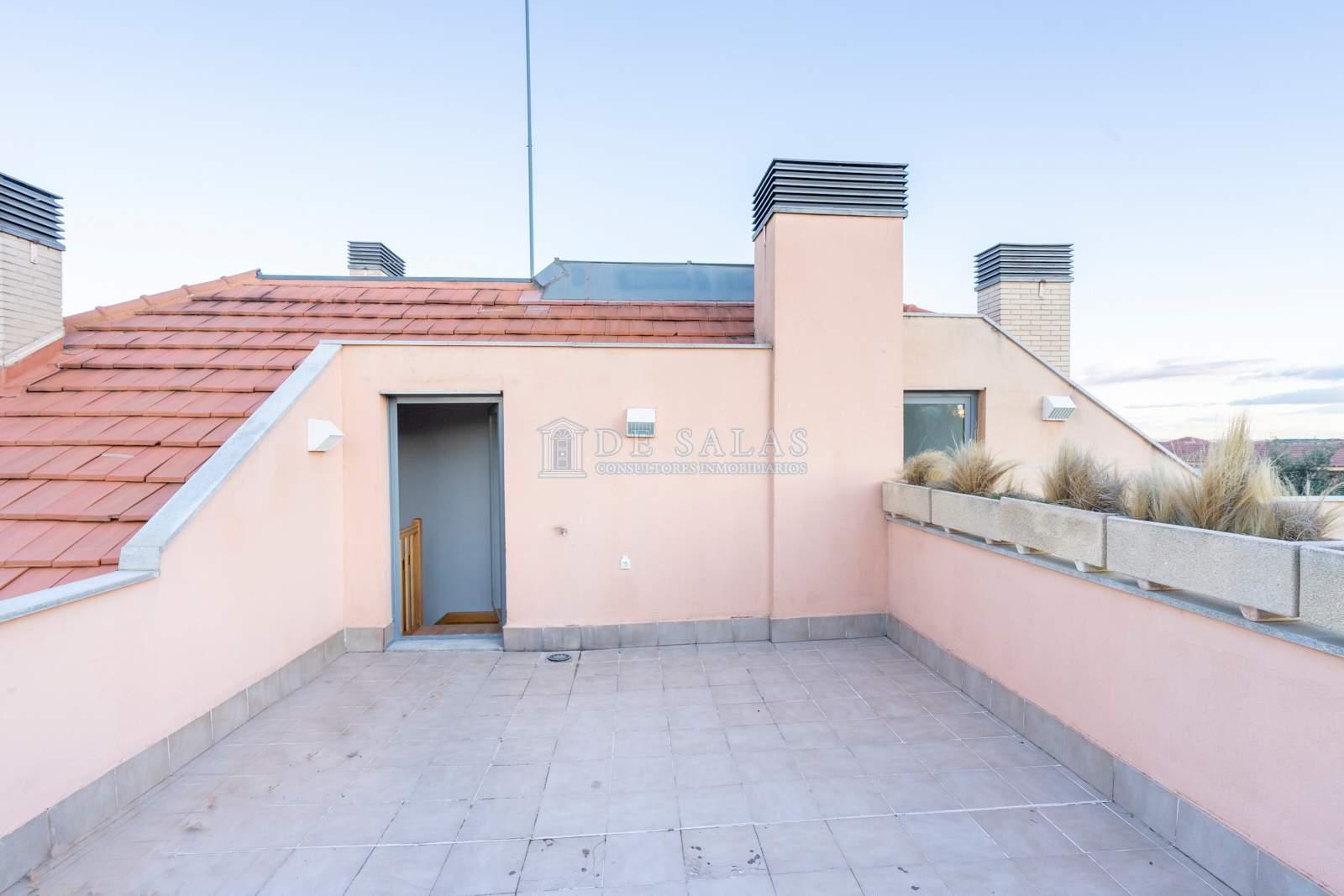Terraza-13 Appartement El Encinar de los Reyes