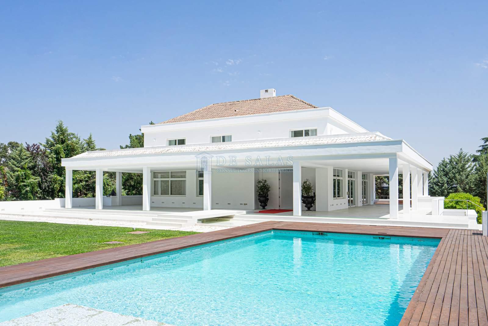 Piscina-0040 House La Moraleja