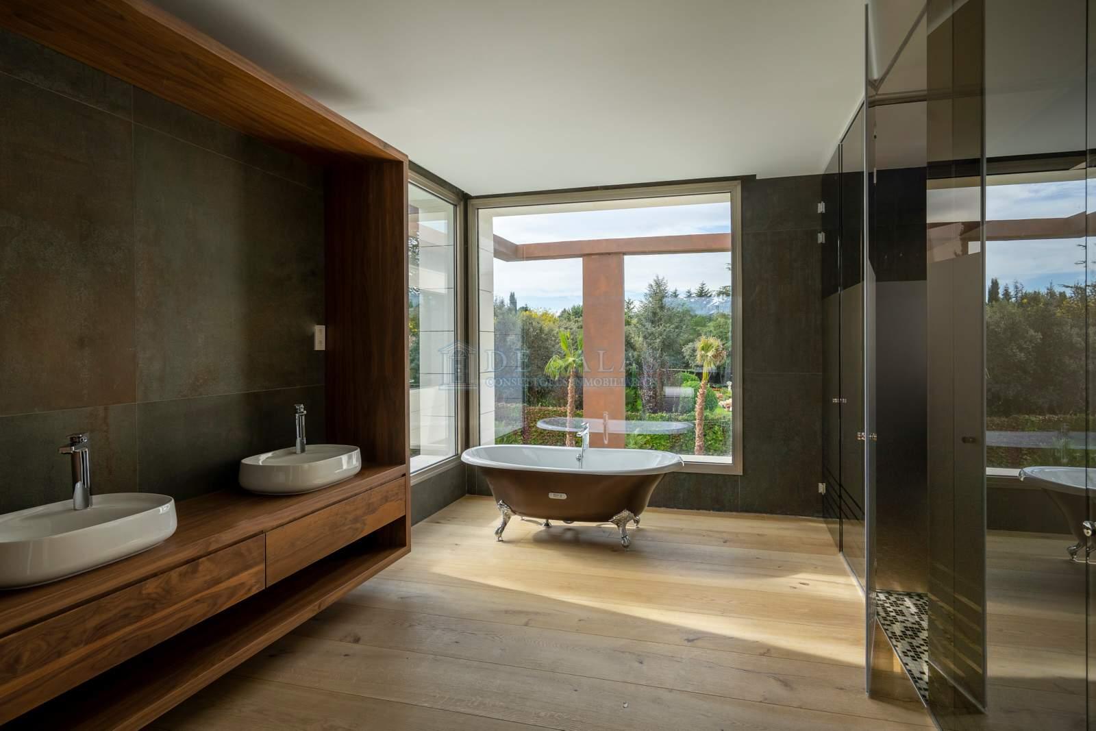 Baño-25 Maison La Moraleja