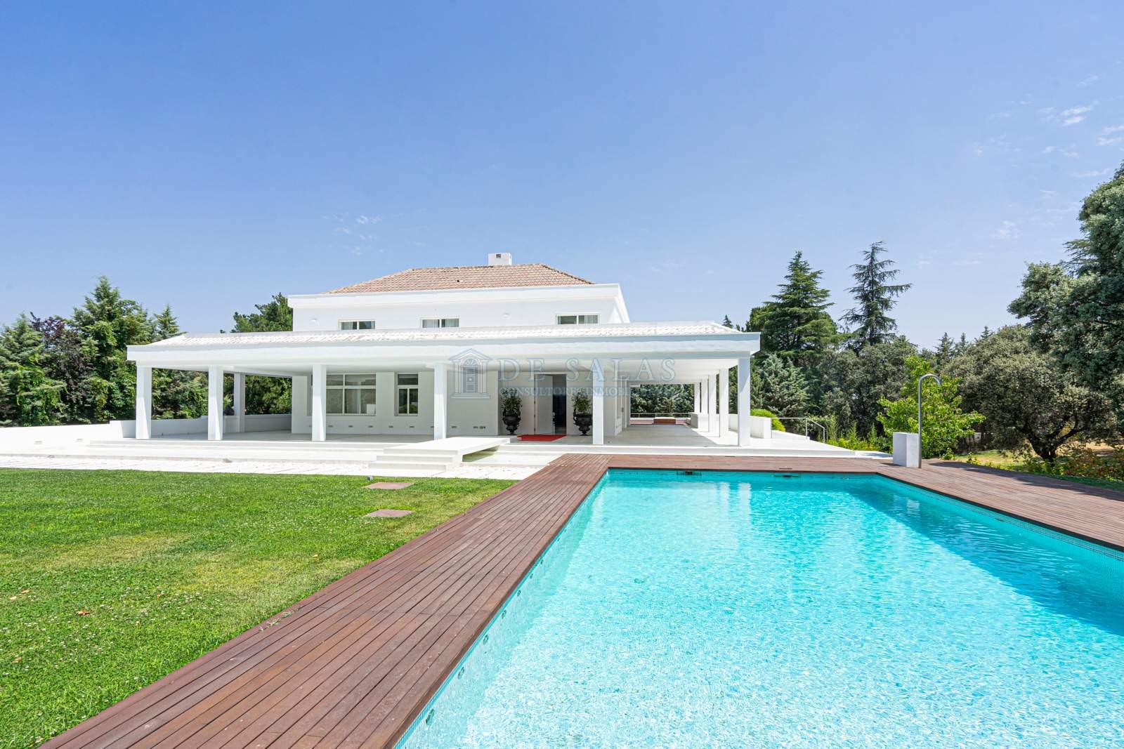 Piscina-0038 House La Moraleja