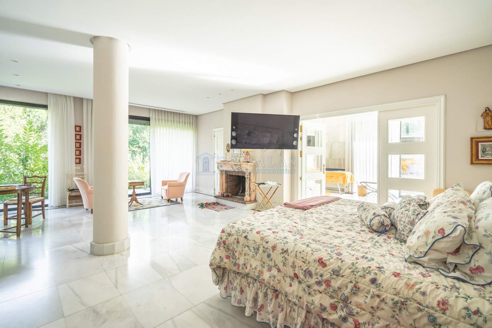 Dormitorio-15 Chalet La Moraleja