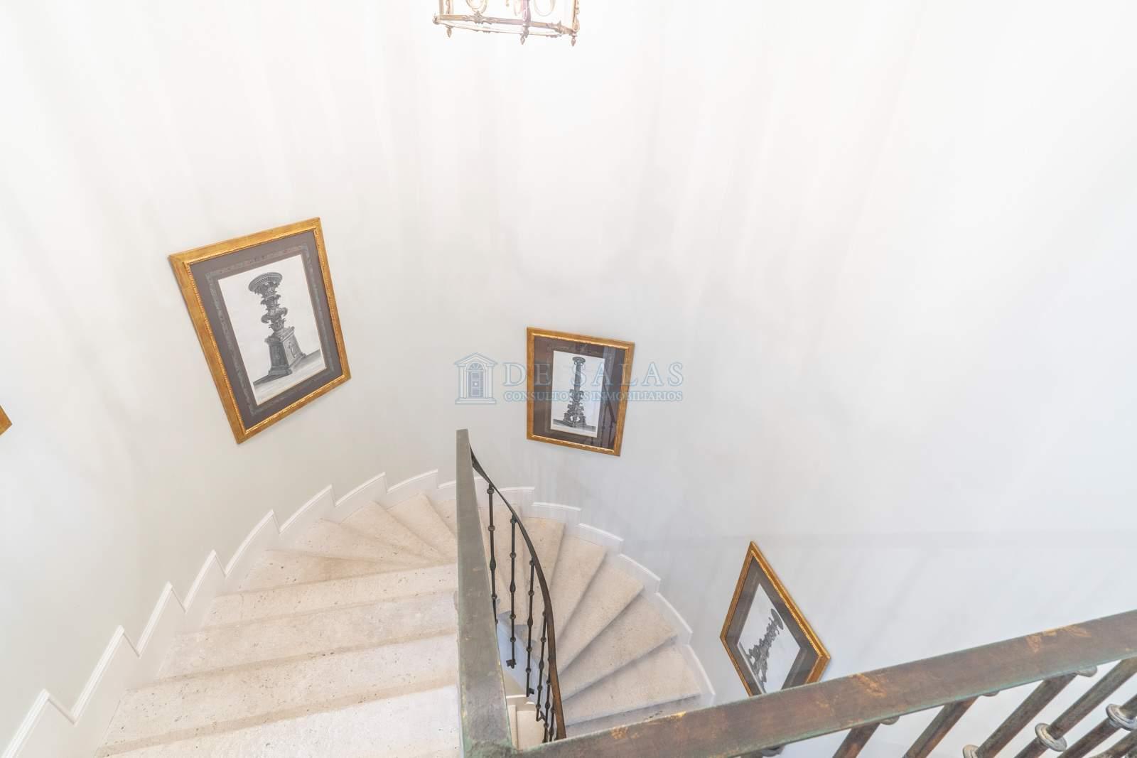 Escalera-14 Maison La Moraleja