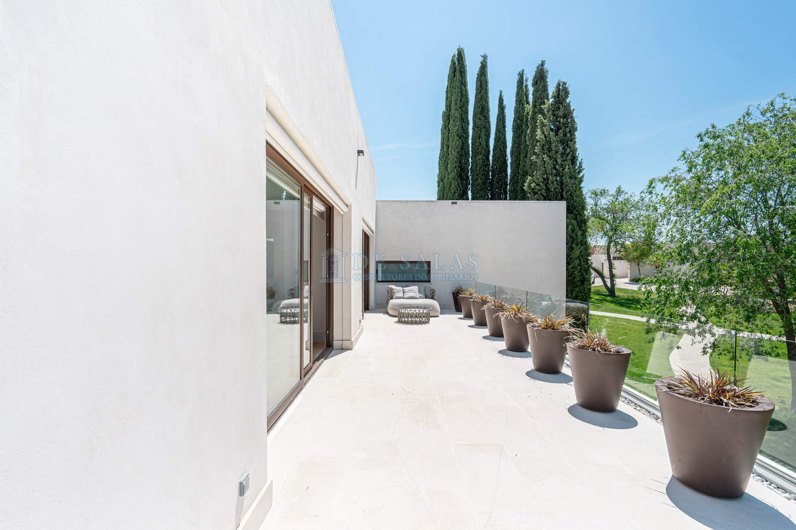 Terraza-0037 House La Moraleja
