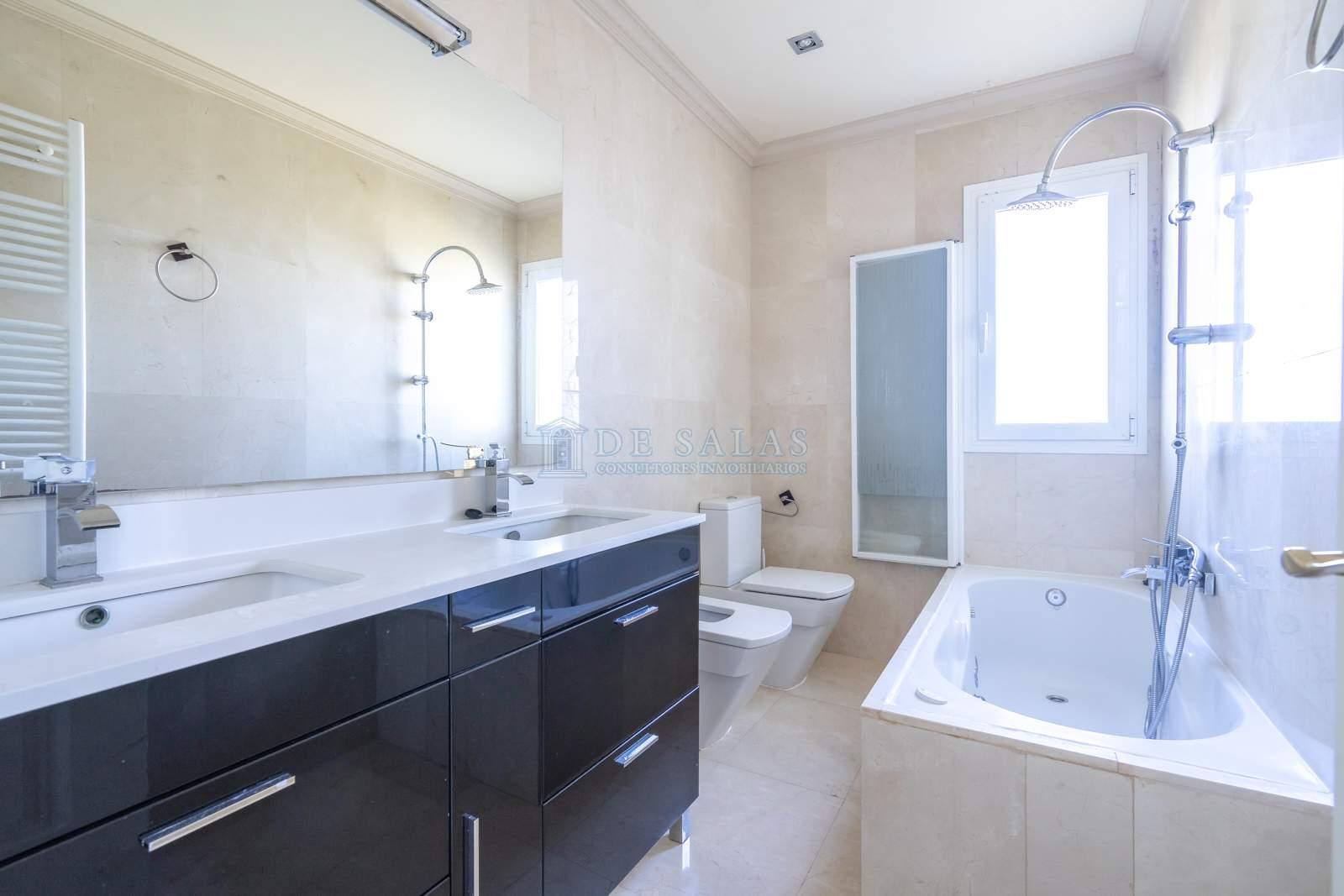Baño-25 Chalet La Moraleja