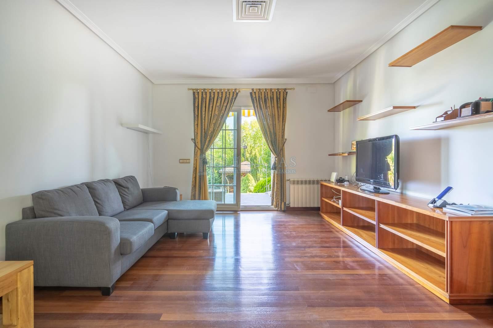 Sala de estar-03 Chalet La Moraleja