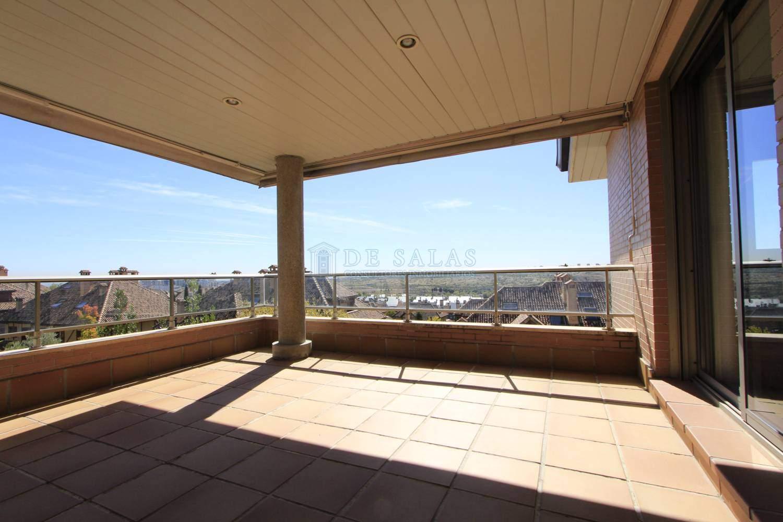Terraza-_MG_1785 Appartement El Encinar de los Reyes