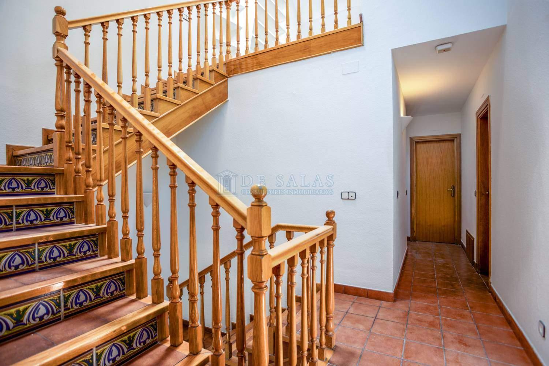 3N5A4649-Escalera Chalet Soto de la Moraleja