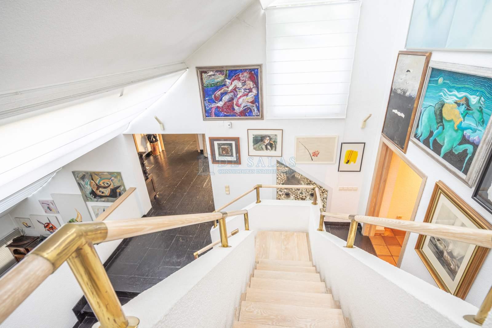 Escalera-44 House La Moraleja