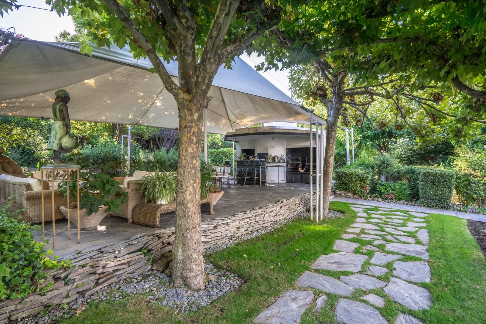 Jardín-22 House La Moraleja