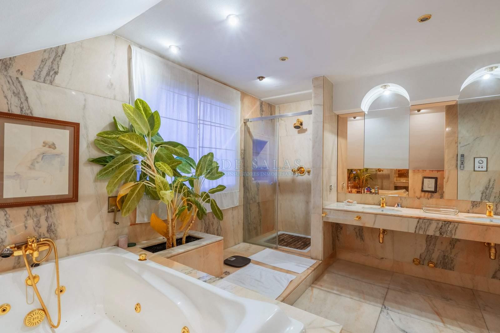 Baño-20 Chalet La Moraleja