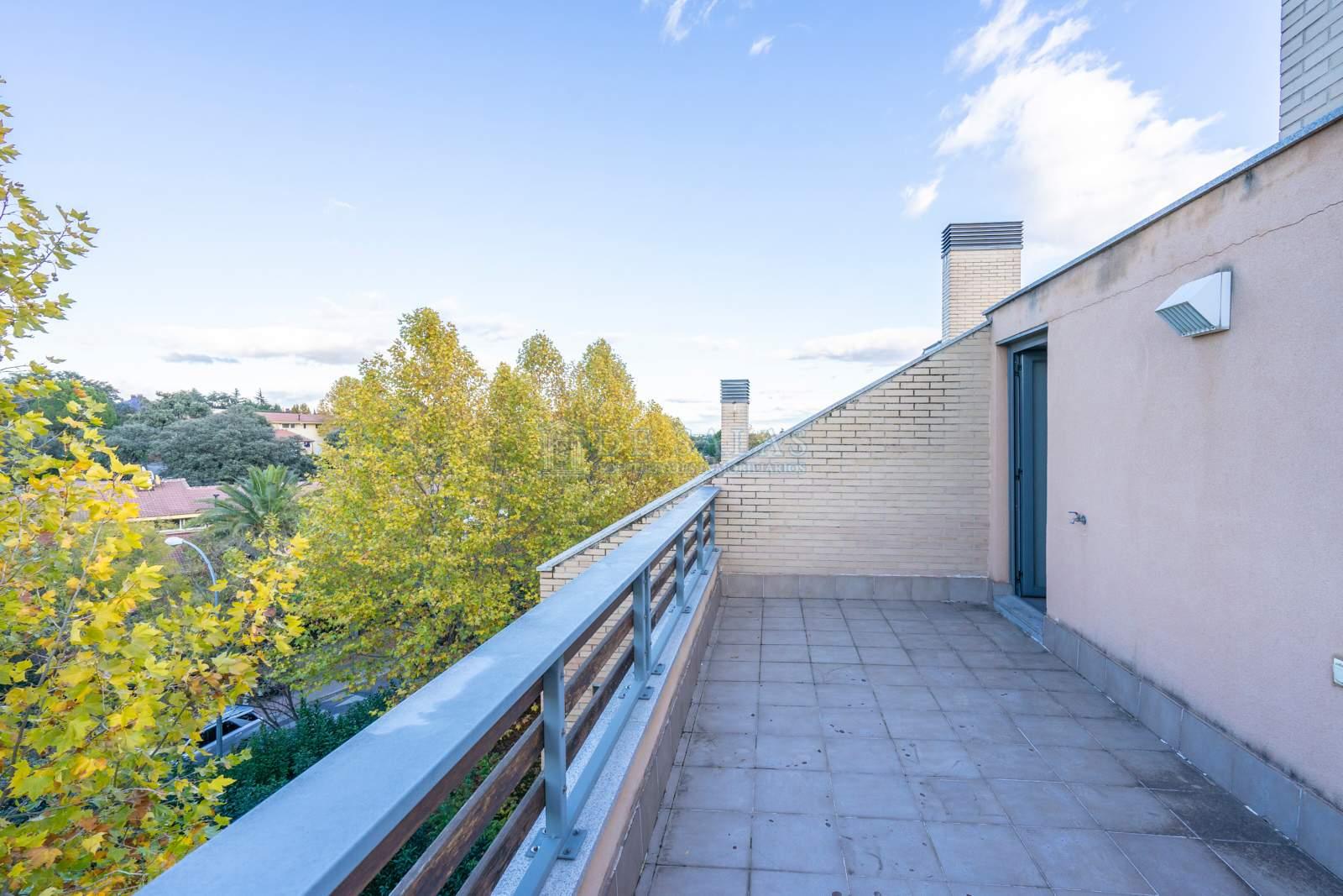 Terraza-08 Appartement El Encinar de los Reyes