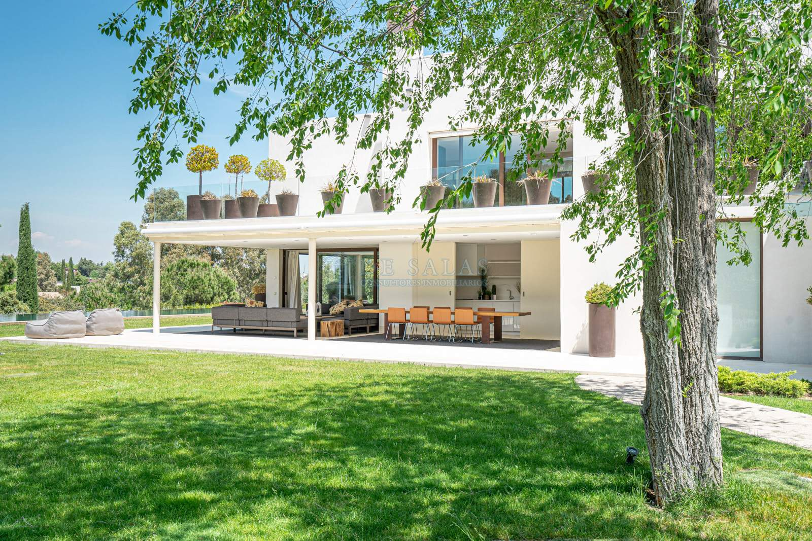 Jardín-0055 House La Moraleja
