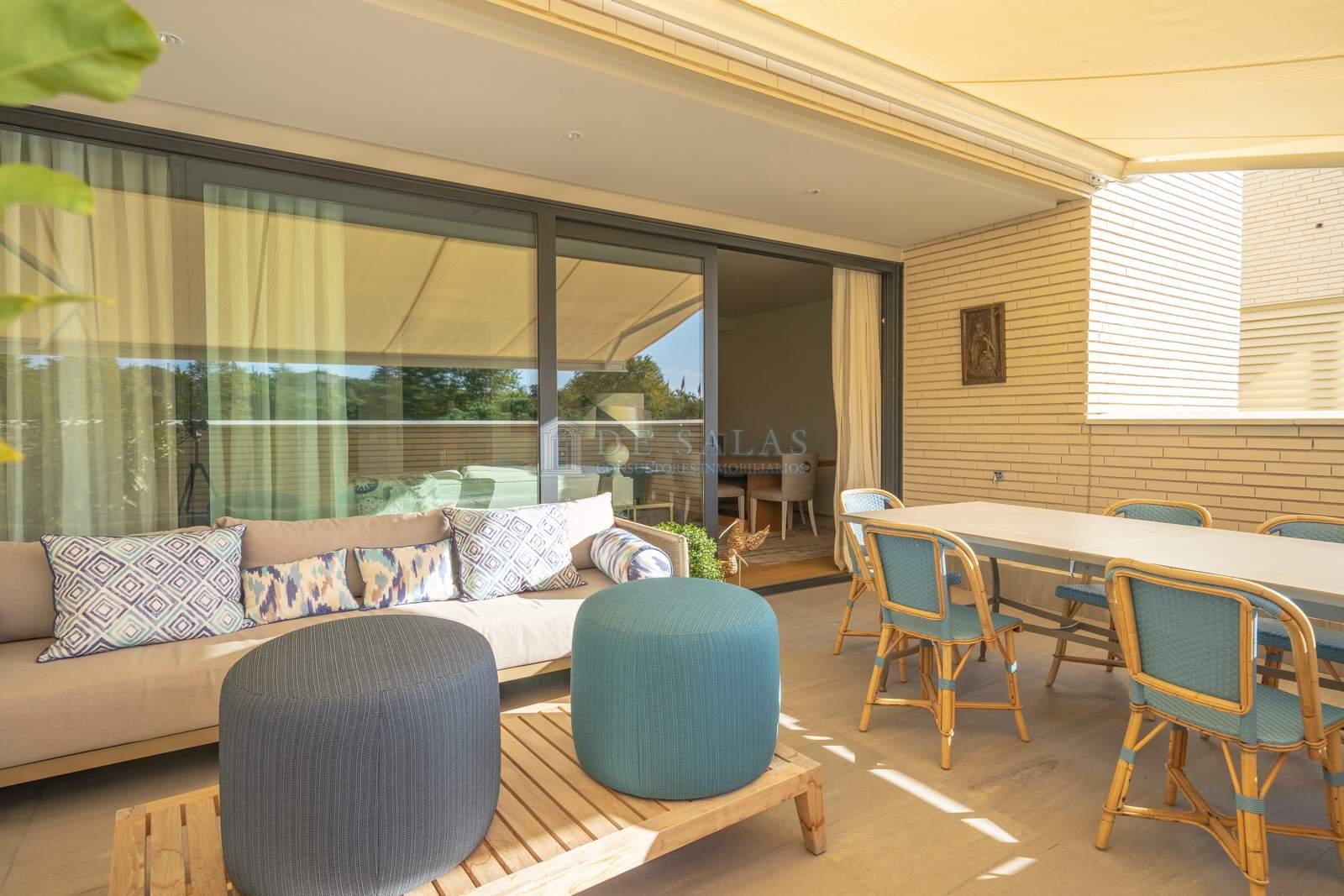 Terraza-05 Appartement El Encinar de los Reyes