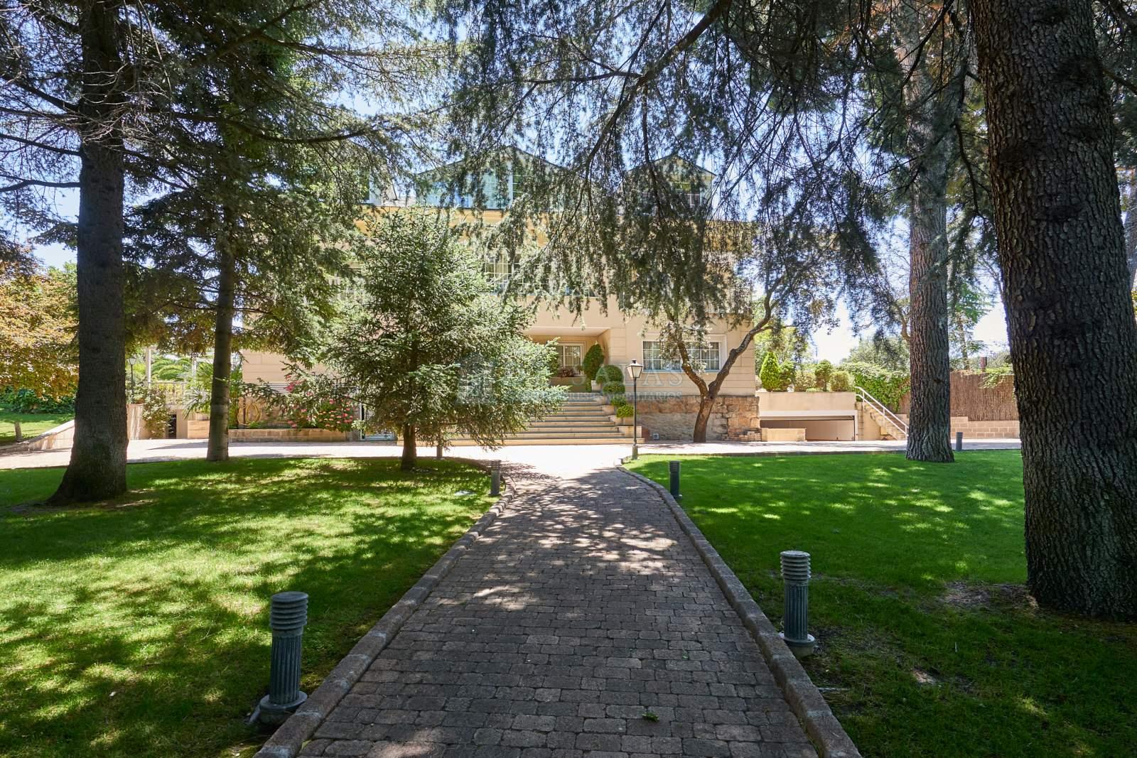 Jardín-0016 Chalet La Moraleja
