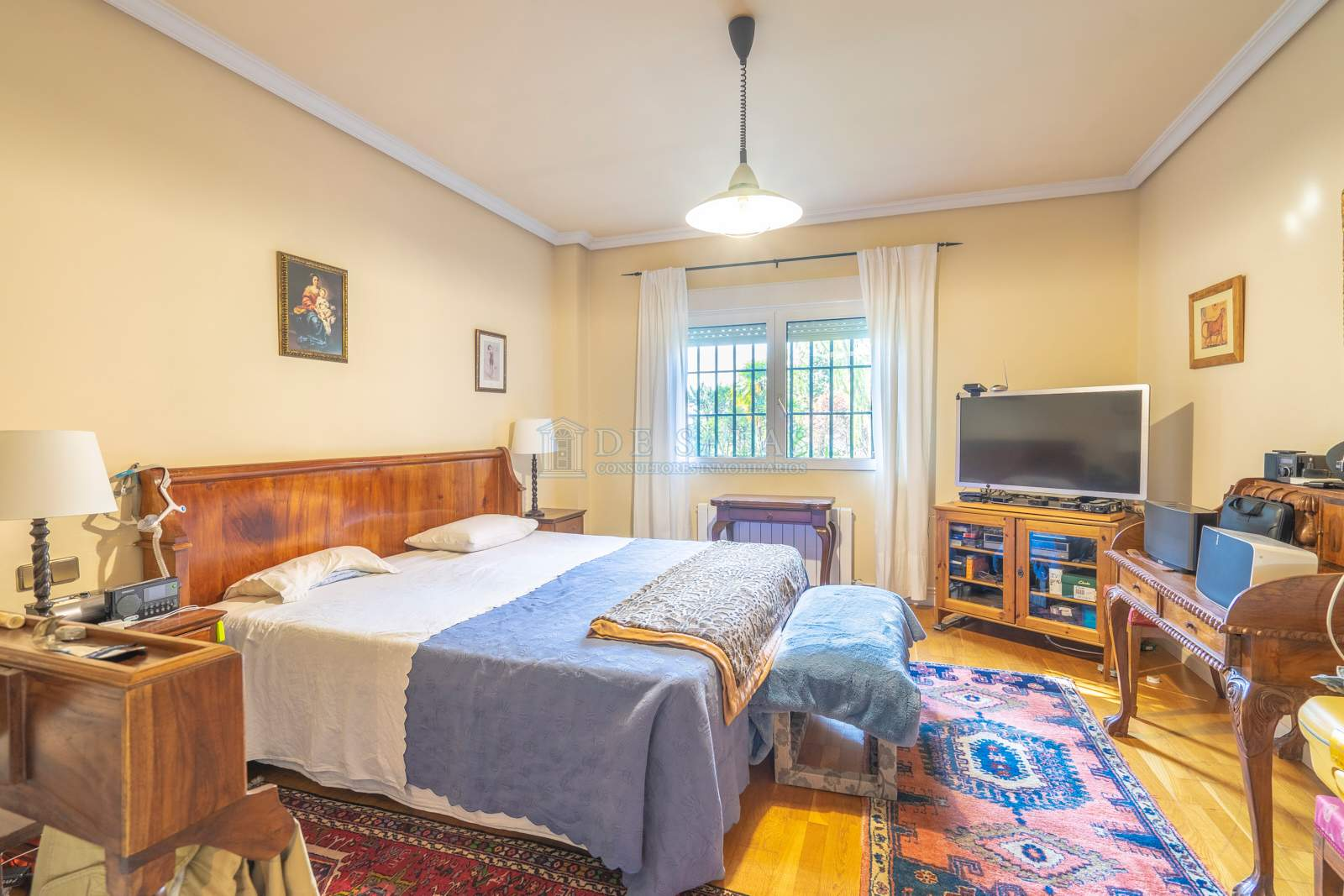 26-Dormitorio Chalet La Moraleja