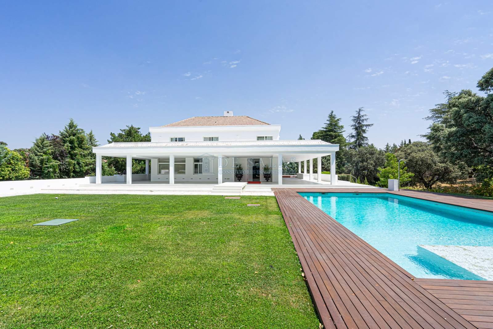 Piscina-0041 House La Moraleja
