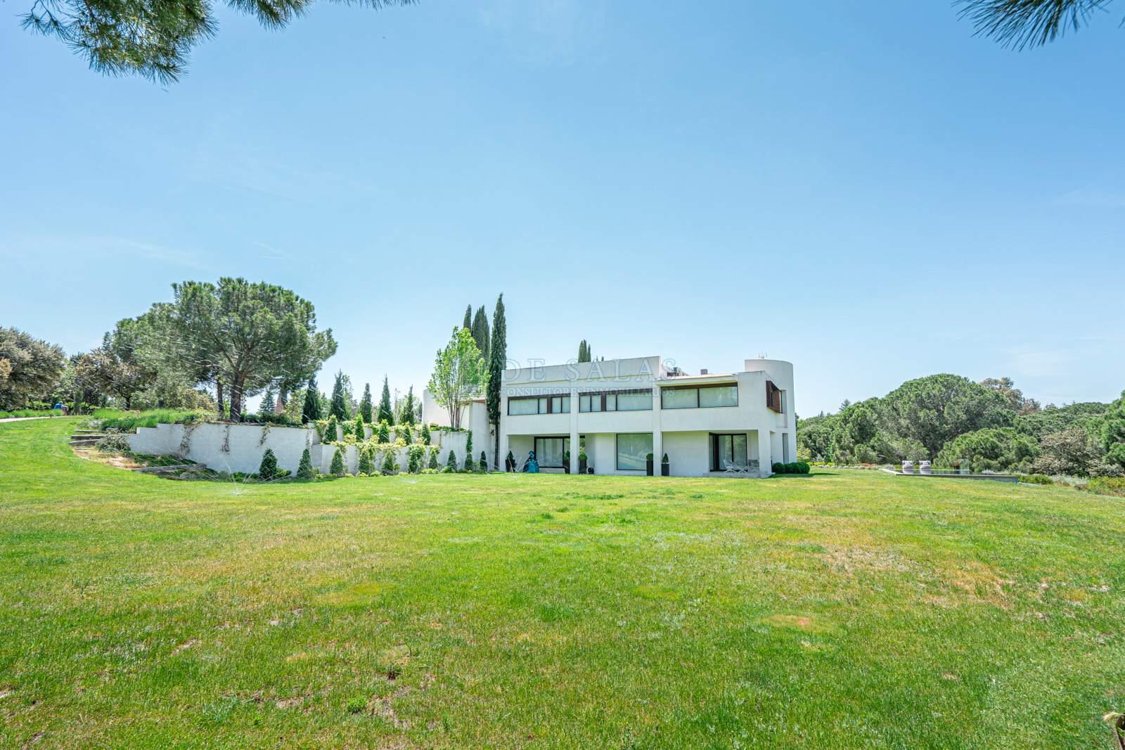 Jardín-0053 House La Moraleja