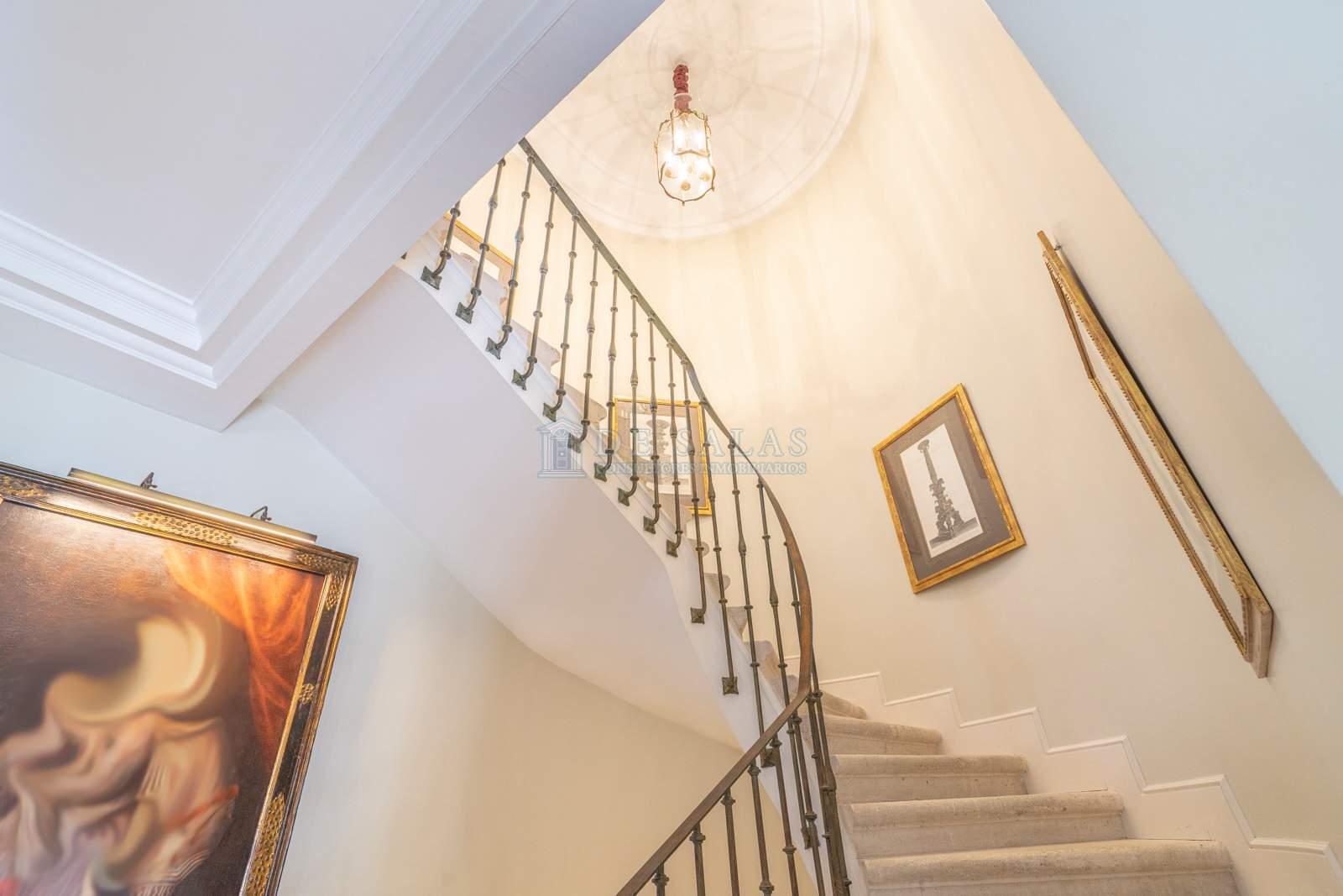 Escalera-12 Maison La Moraleja