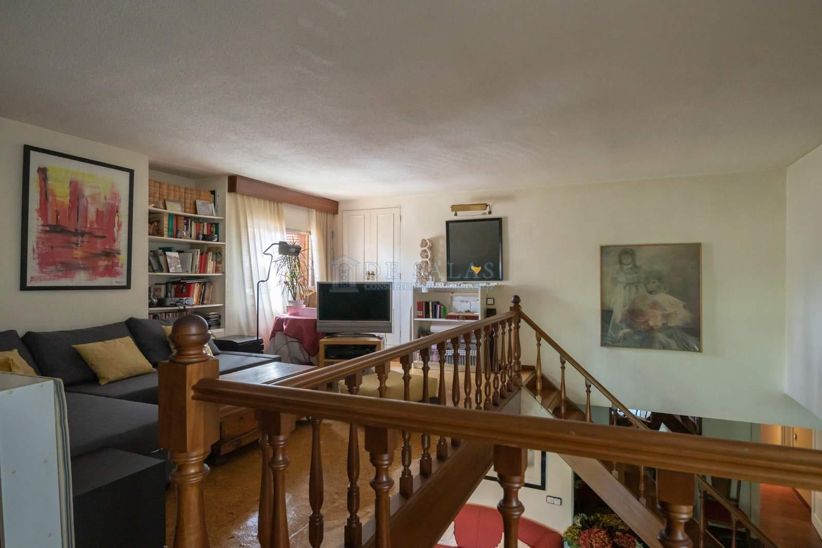 10-Sala de estar Piso Soto de la Moraleja