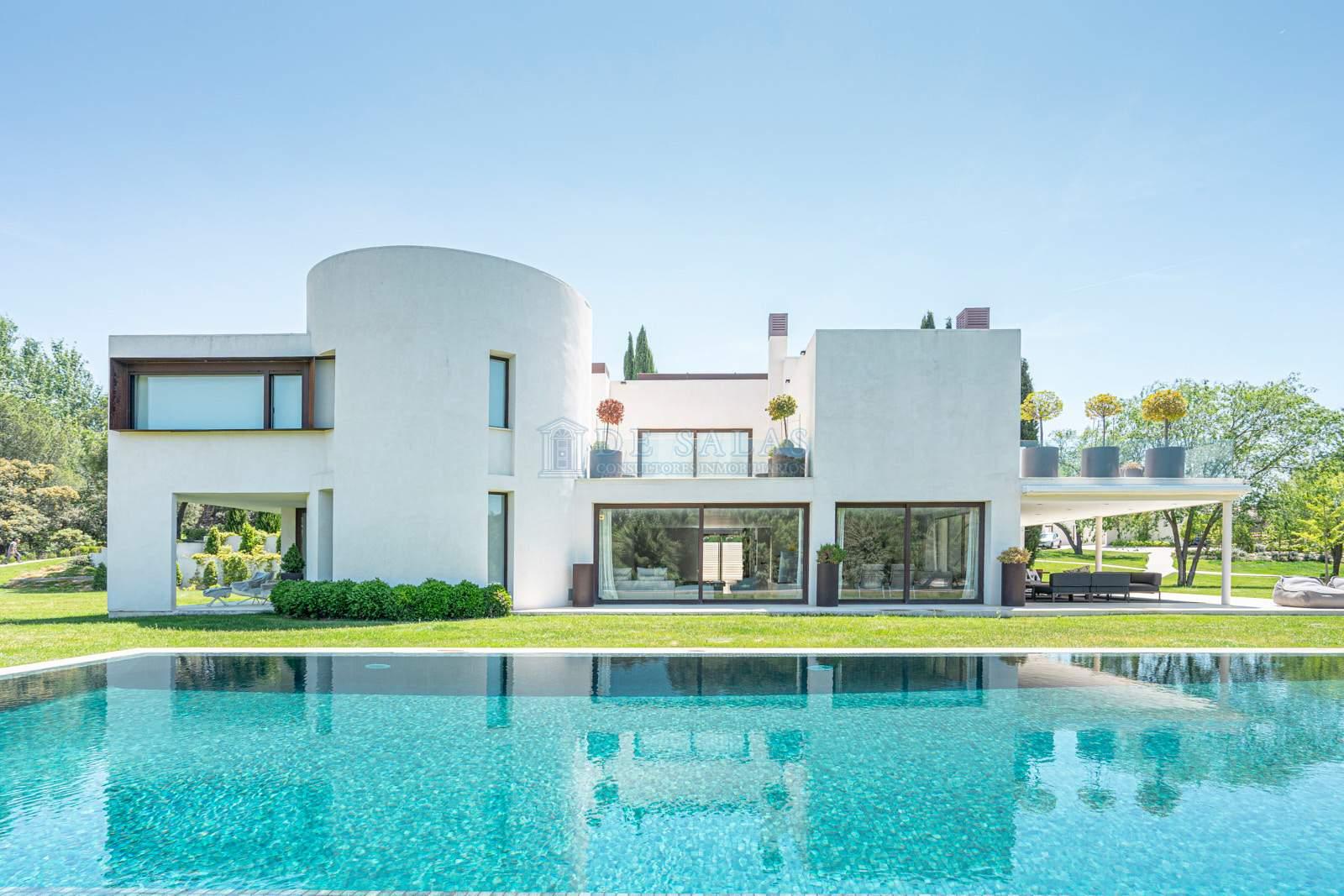 Fachada-0050 House La Moraleja